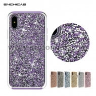 iPhone X Luxury Diamond Crystal Rhinestone PC+TPU Bumper