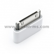 Micro USB to 8 Pin Connector 30 Pin USB Adapter for iPhone