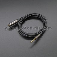 3.5 mm Metal Jack Aux Audio Cable Male to Female Aux Extension Cable Gold Plated Auxiliary Cable 5 метра