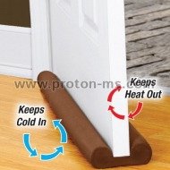 Twin Draft Guard Double-Sided Insulator Keeps Heat In & Cold Air Out!