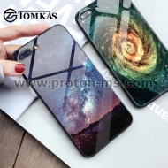 iPhone X TOMKAS Glass Phone Case