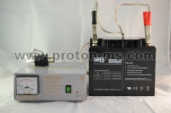 Uninterruptible Power Supply 200W, Model: IN 200 SV complete with 12V, 40Ah battery