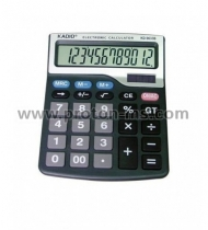 12-Digit Electronic Calculator KADIO KD-9633B