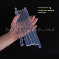 Transparent 11mm x 190mm Hot Melt Glue Sticks 1pcs