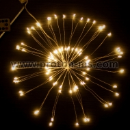 White LED Octupus Lights in 10 strings, 220V, 200 pcs
