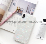 USLION Glitter Phone Case For iPhone X