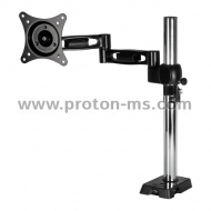 "Desk Mount Monitor Arm ARCTIC Z1, 13""-32"", 10 кг, 4-Ports USB 3.0 Hub, Black"