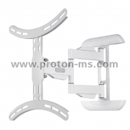 "FULLMOTION TV Wall Bracket HAMA 118675, 32""-65"", 35 kg, White"