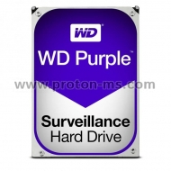 HDD WD Purple WD10PURZ, 1TB, 5400rpm, 64MB, SATA 3