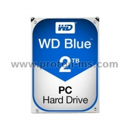 HDD WD Blue, 2TB, 5400rpm, 64MB, SATA 3