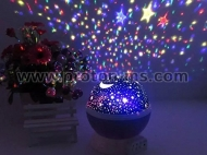 Star Master Dream Rotating Projector Lamp Moon Sky Projection LED Night Lights Table Lamps Decorative Lights For Kids Gift with USB Charge