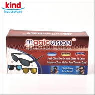 3 In 1 Magic Vision Sunglasses Quick Change Lensen Magnet Sunglasses