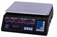 Electronic Scale, 40 kg max., metal tray