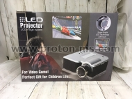LED Projector LCD Image System For Video Games