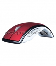 USB folding Wireless Optical Arc Mouse