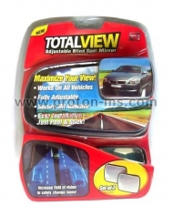 Total View Adjustable Blind Spot Mirror