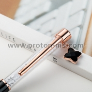 Luxury Pen with Crystals and Pendant