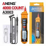 Мултимер Мултицет A3003 Digital Multimeter Pen 4000 Counts Non Contact ACV/DCV Electric Handheld Tester Hand-held Digital Multimeter