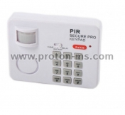 Wireless alarm with motion detector and code YL-107